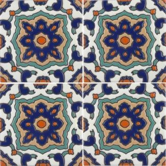 Malibu Tile Salamanca Gloss 6 From Santa Barbara Ceramic Collection