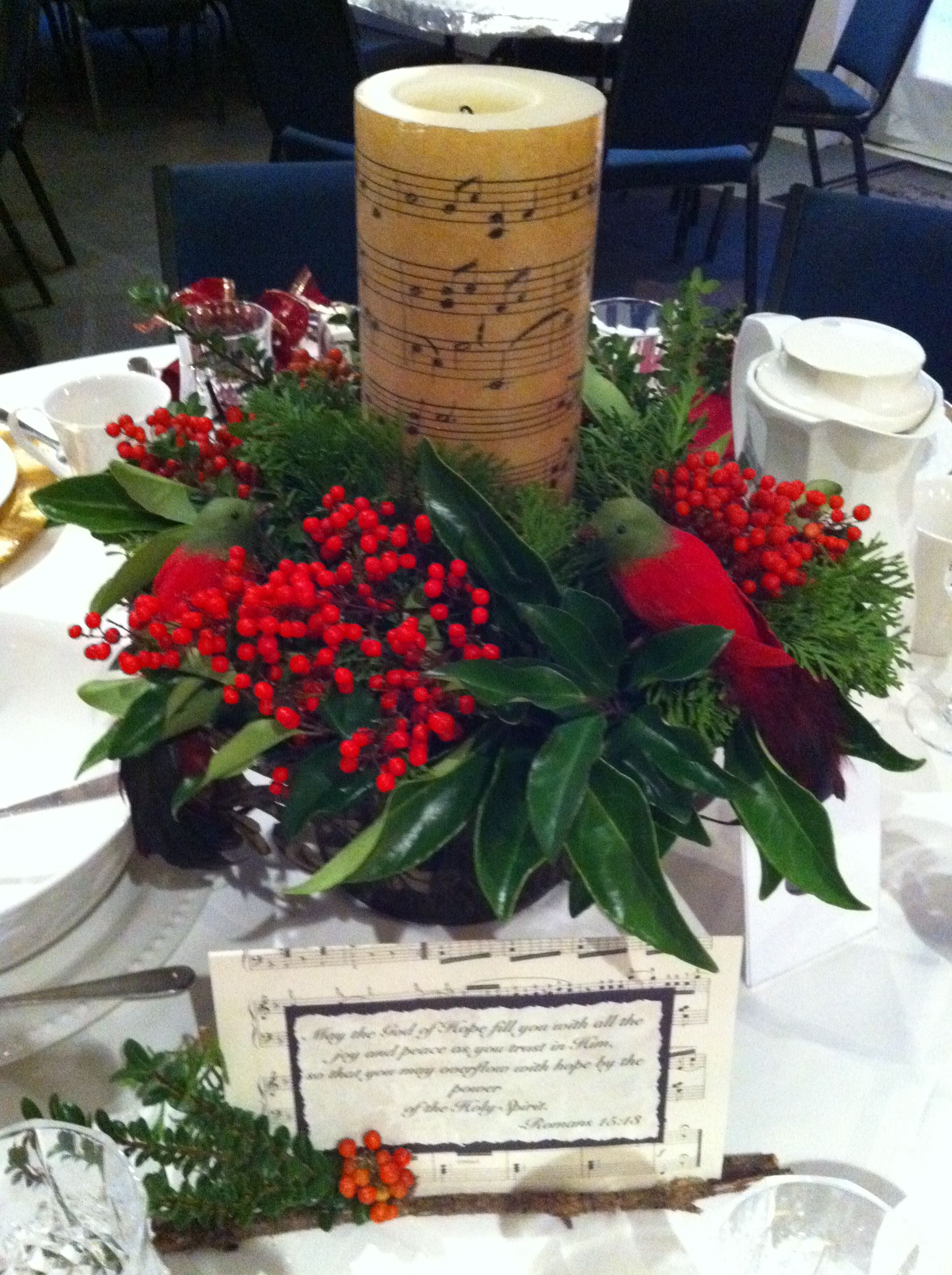 Christmas table centerpiece party ideas christmas for Christmas table centerpieces