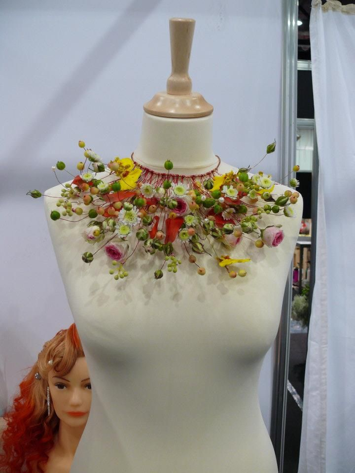 Floral Necklace | with Pin-It-Button on http://tinypic.com/usermedia.php?uo=xDroBU9Q%2BPQ1MFaC01cOzoh4l5k2TGxc#.Utj8ntKwagQ