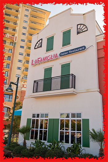 La Famiglia Authentic Italian Restaurant Pizzeria Destin Florida