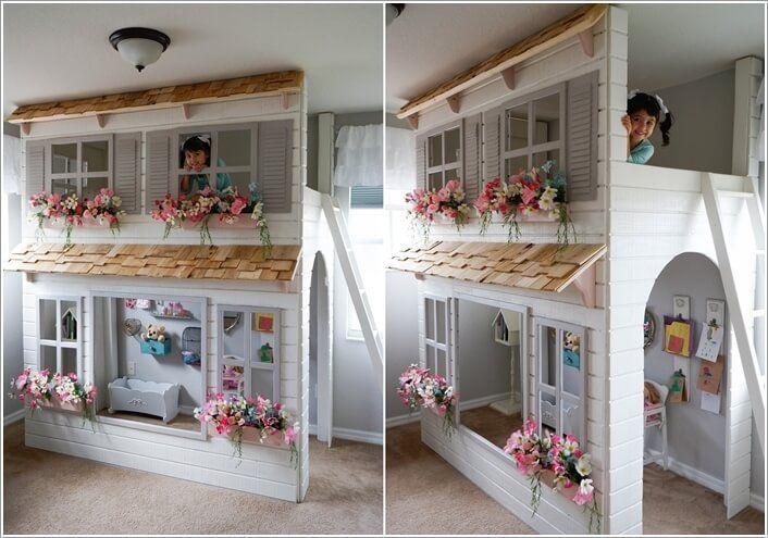 15 diy cool indoor playhouse ideas for kids nephew kids room rh pinterest com