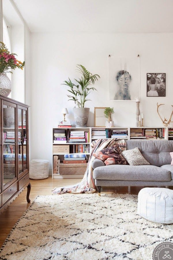 Styling Tricks to Steal from 8 Beautiful Living Rooms | Lámpara ...