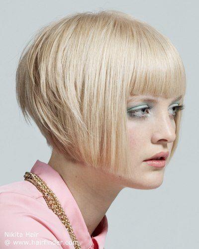 Bob Cut With A Steep Graduation Beauty Hair 5 Pinterest Hair