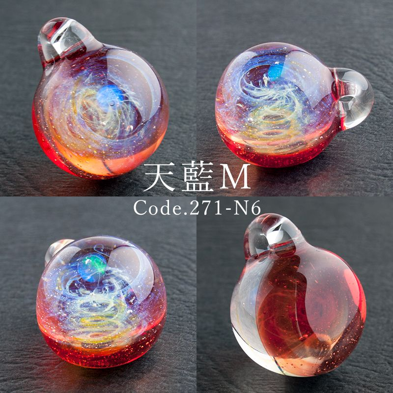 Photo of 【楽天市場】【3/21新作】【【Mサイズ 1.8cm 宙 ガラス ペンダ…