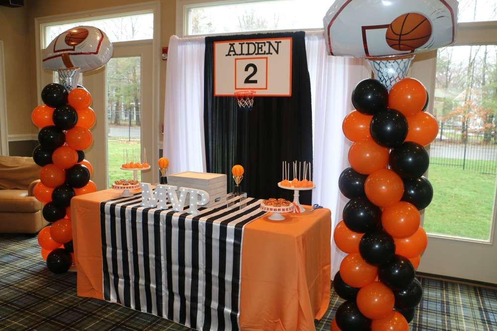 basketball birthday party decorations