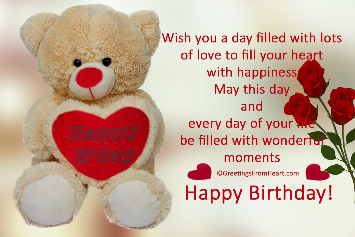 Pin By Hina Absar On Happy Birthday Birthday Wishes For Lover Advance Birthday Wishes Cute Birthday Wishes