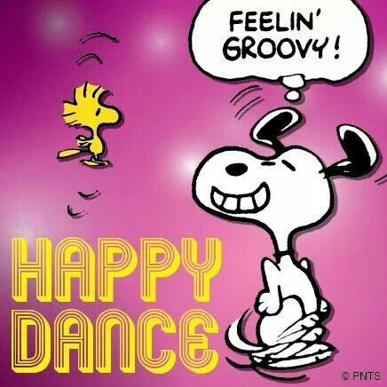 Pin By B B S G M M On Snoopy Snoopy Dance Snoopy Friday Happy Friday Dance