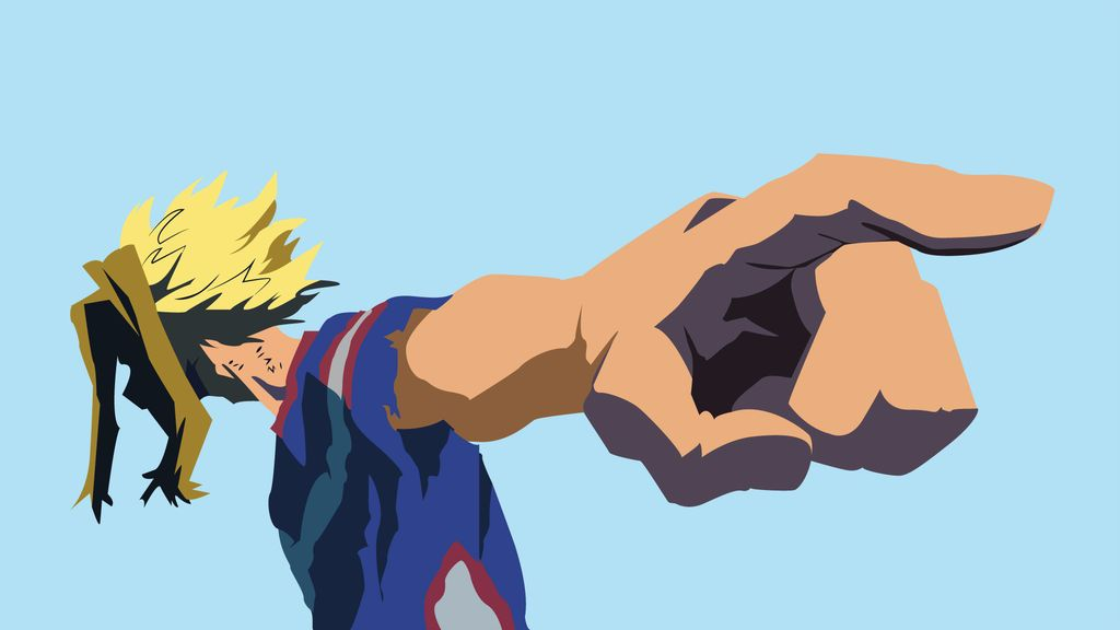 You Are Next All Might My Hero Academia By Oldhat104 My Hero My Hero Academia Anime