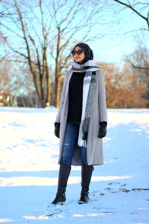 winter fashion karama hoda winter fashion hijab modest. Black Bedroom Furniture Sets. Home Design Ideas
