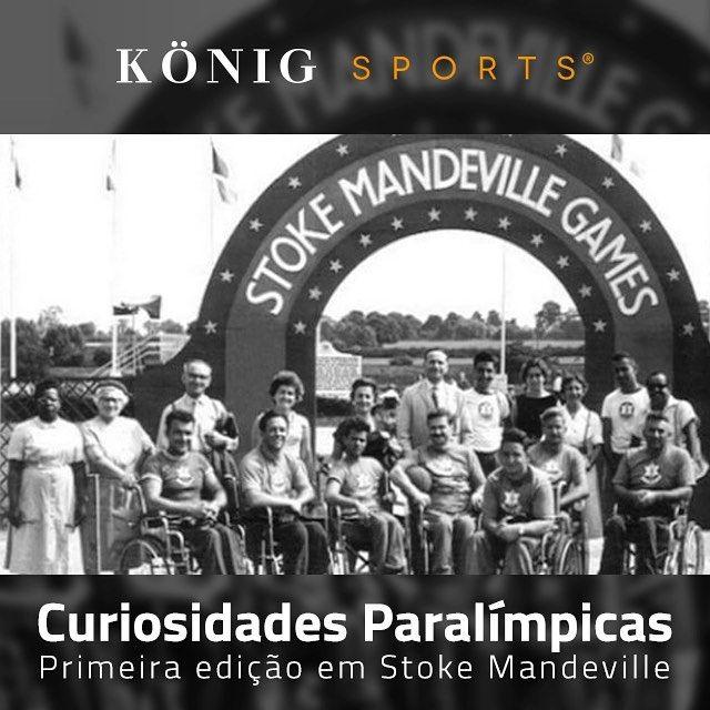 Os jogos paralímpicos tiveram origem em Stoke Mendville, na Inglaterra, com uma…
