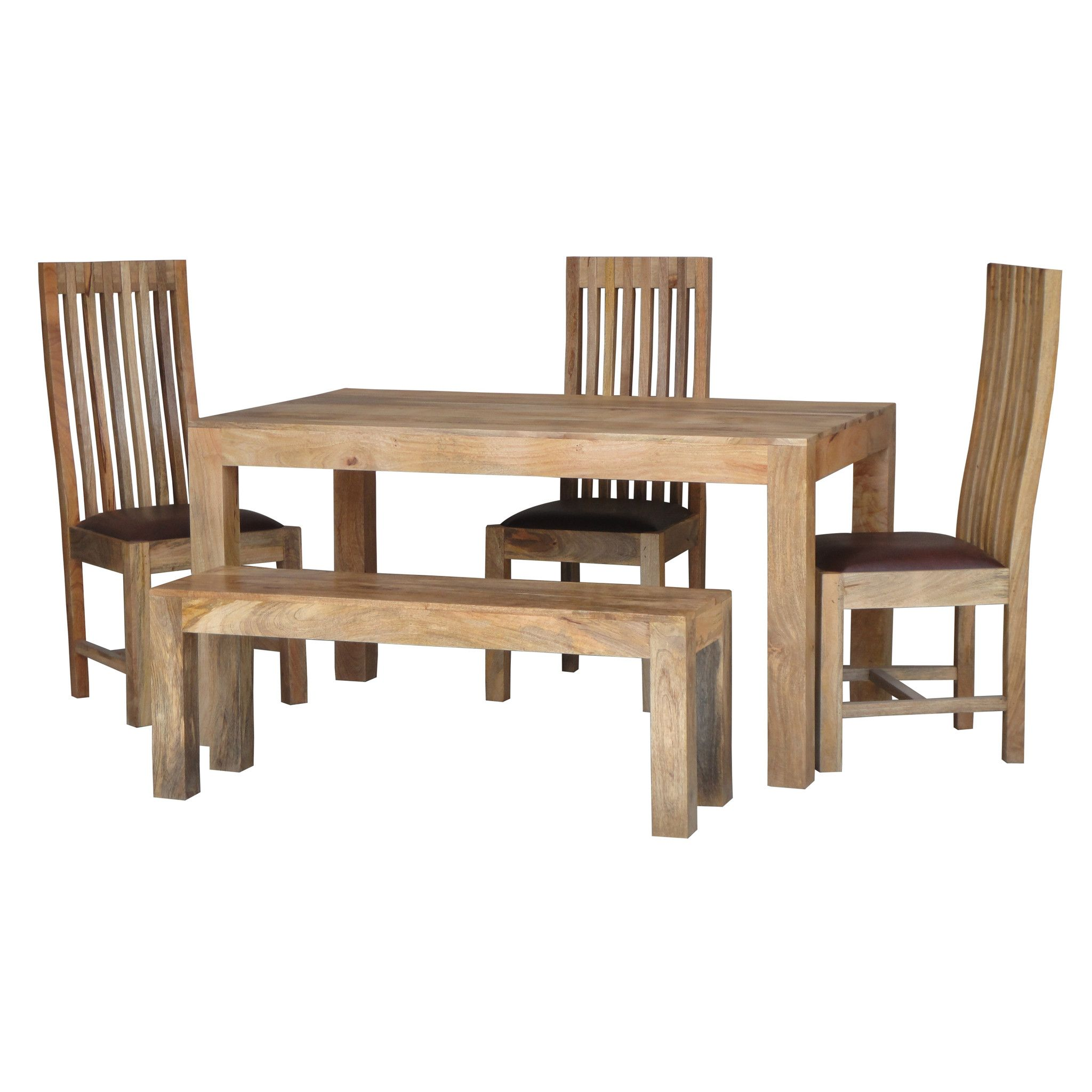 Mango Wood Light 145X90 Dining Table  Hardwood Furniture Woods Enchanting Mango Wood Dining Room Table Review