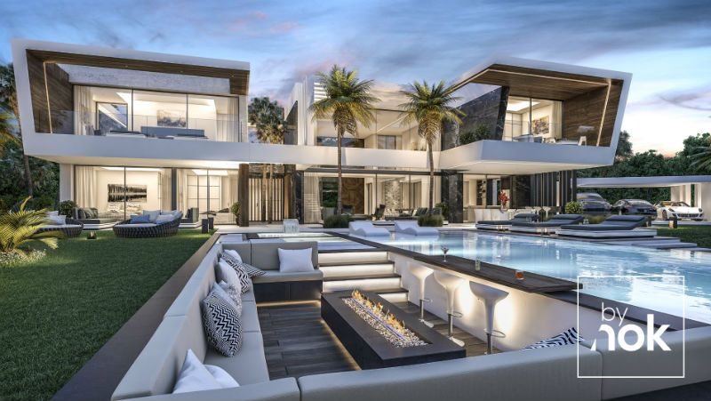 Flawless By Nok Modern Villa In Madrid Spain Beverly Hills Magazine House Designs Exterior Luxury Homes Dream Houses Modern House Exterior