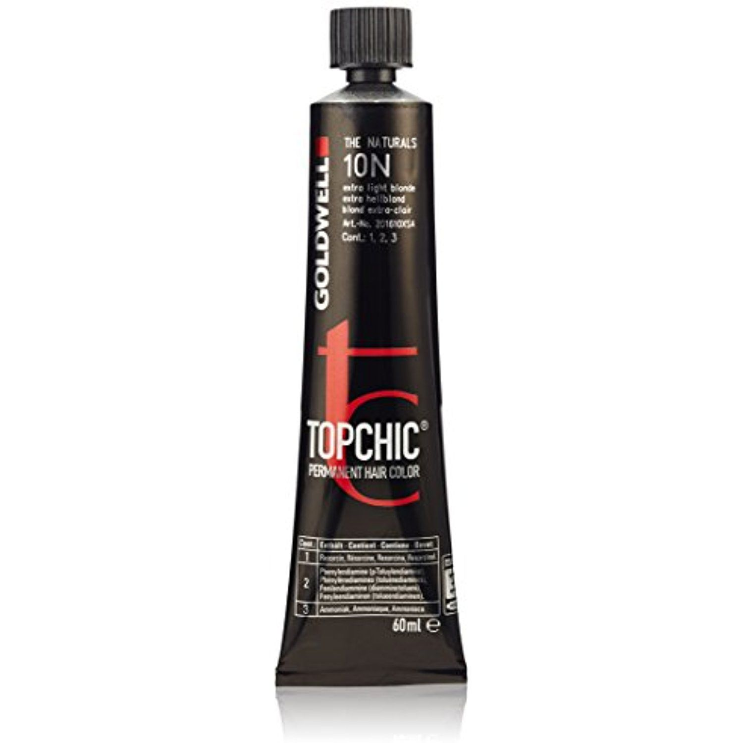 Goldwell Topchic Hair Color Coloration Tube 10n Extra