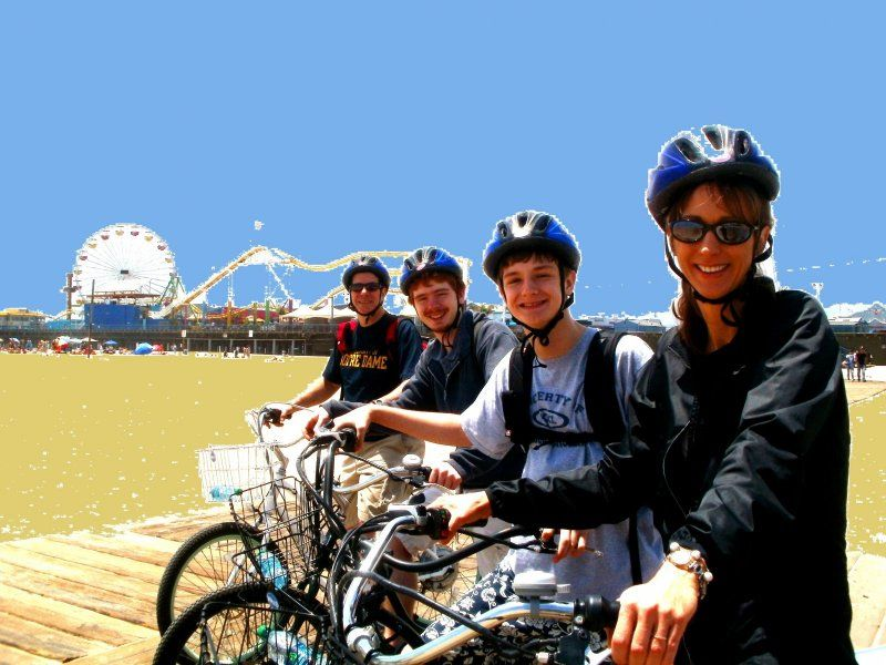Electric bike tour of santa monica venice beach los