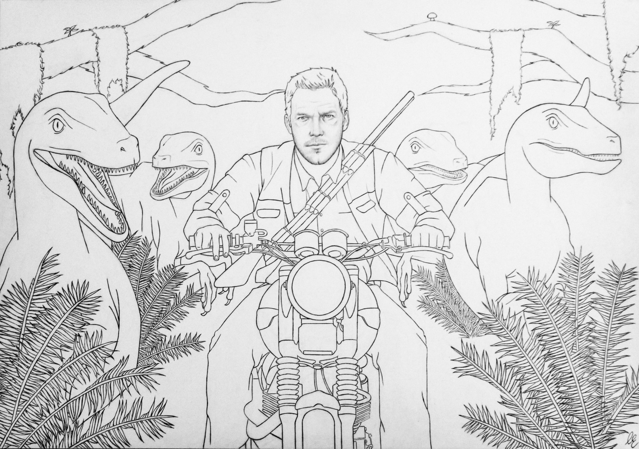 Jurassic Park Coloring Page Fresh Coloring Page Jurassic World Dinosaur Coloring Pages Dinosaur Coloring Coloring Pages