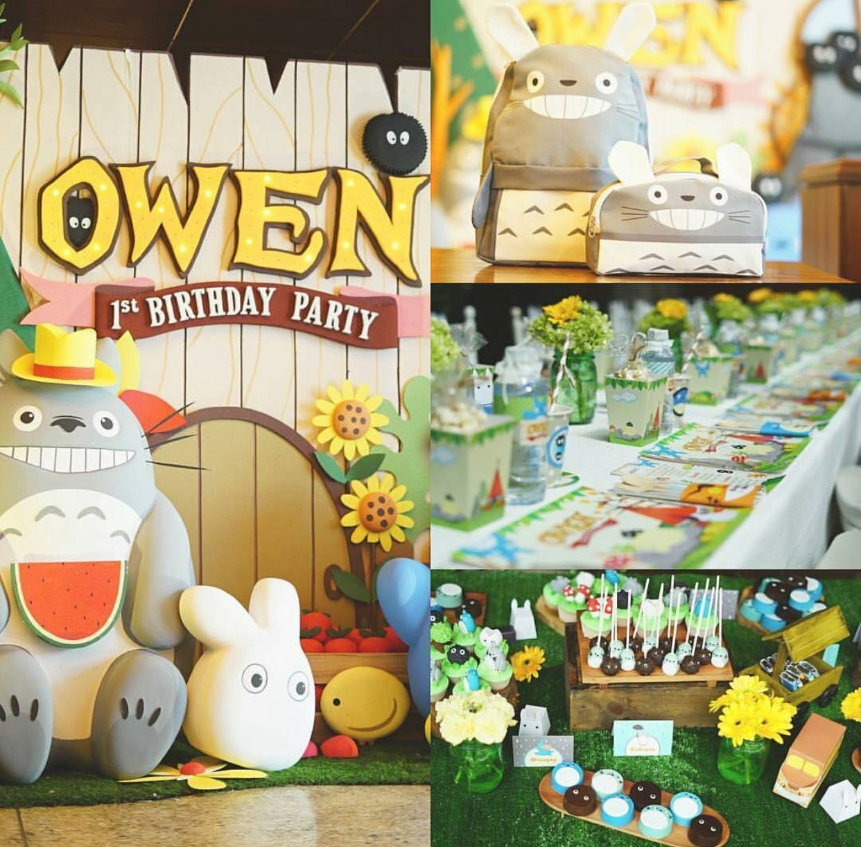 Pin by Abigail Felix on Totoro party (With images