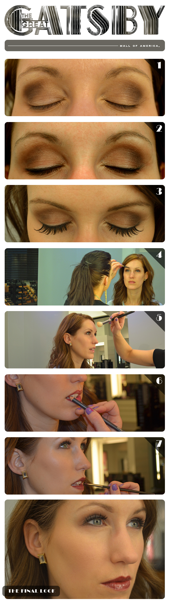 Great Gatsby Makeup, inspiration for Mobella Events, Event Planner Orlando, www.mobellaevents.com