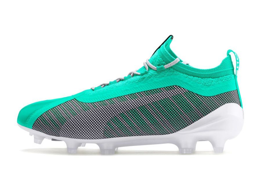 wholesale outlet presenting new arrivals Puma One 5.1 FG/AG Winterized - Green / Puma White #pumafootball ...