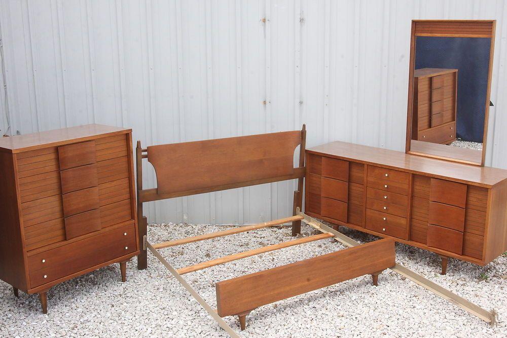 Vtg Mid Century Modern Johnson Carper