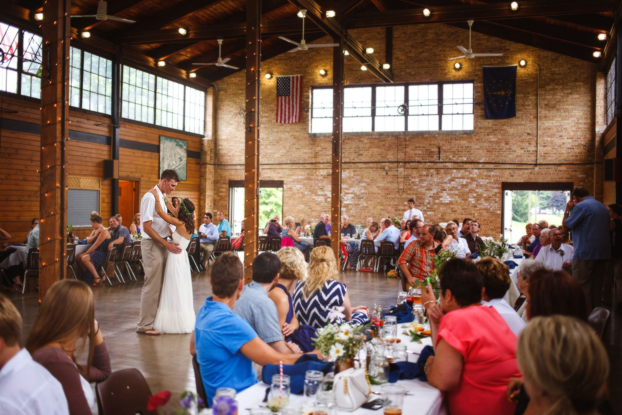 Erfield Family Pavilion In Valparaiso Indiana Dunes Weddings