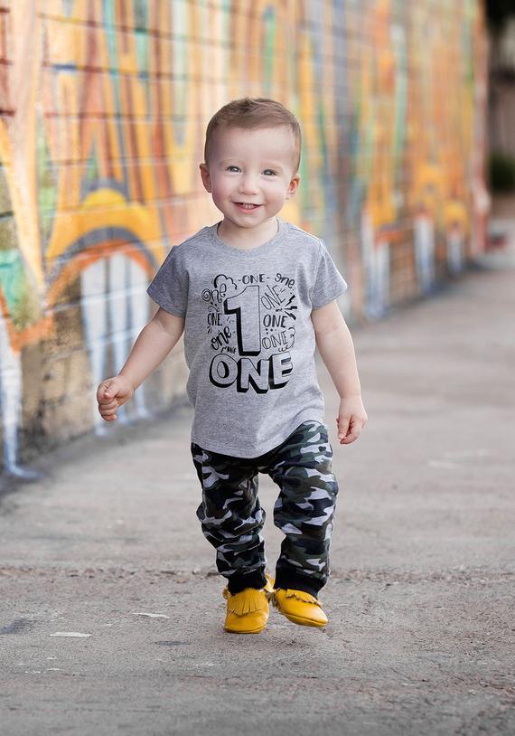 f3005288b First Birthday Shirt - ONE Birthday Shirt - One Shirt First Birthday - Boys  1st Birthday Shirt - Bo