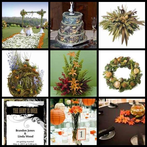 Camo Wedding Decoration Ideas: Bing : Camo And Orange Wedding Reception Decoration Ideas