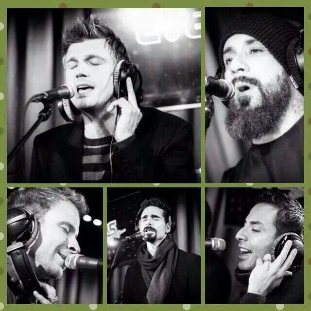 Backstreet boys en el estudio