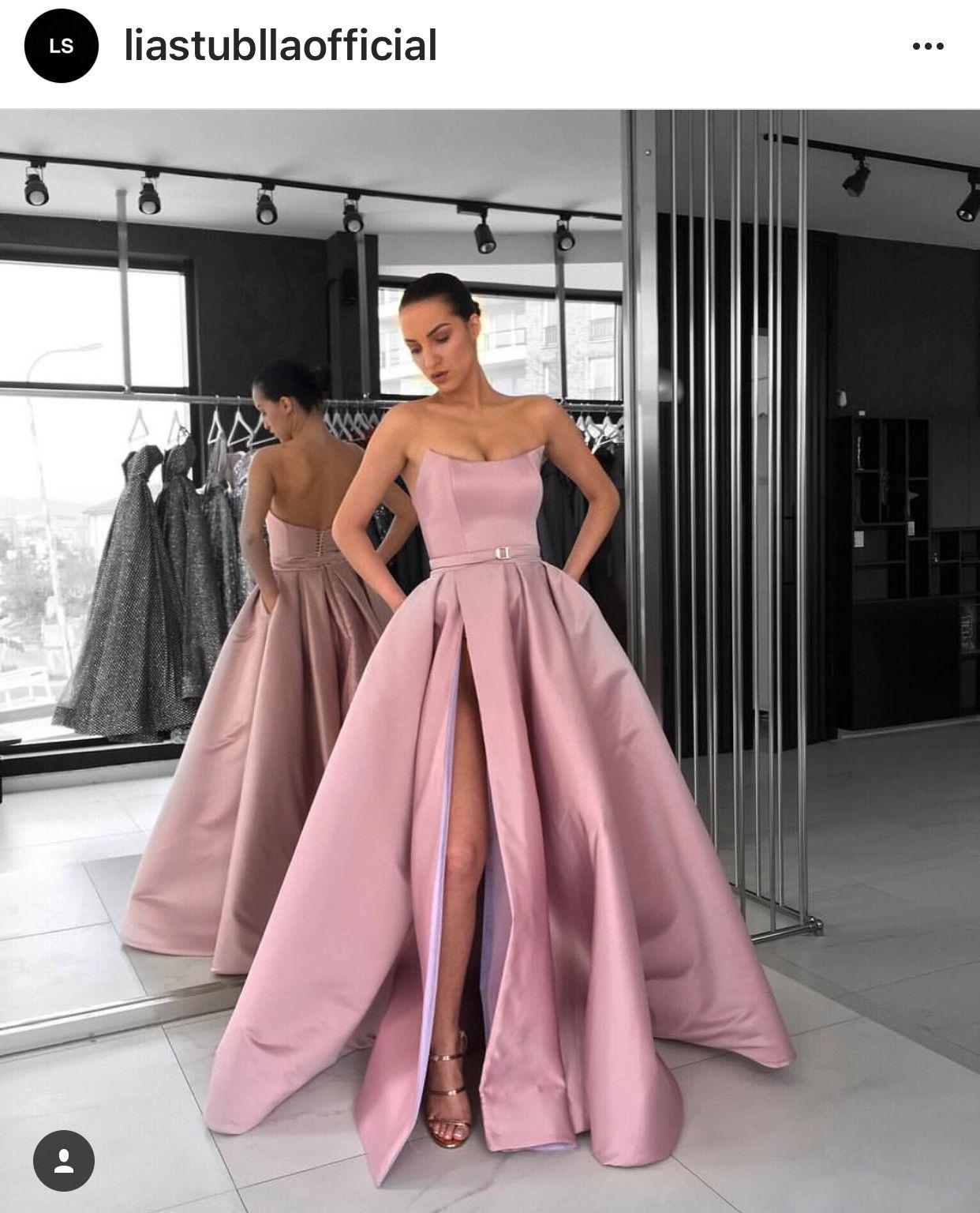 ed535533d34 Lia Stublla Prom Dresses With Pockets