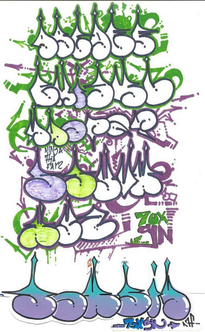 Pin by tanisha rochelle on graffiti graffiti lettering - Bubble graffiti ...