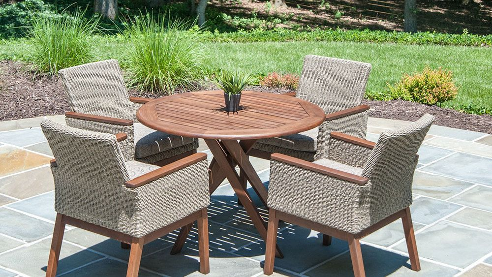 Wood Teak Patio Furniture From Jensen Leisure Available At Oregon S Largest Showroom Of World Bend