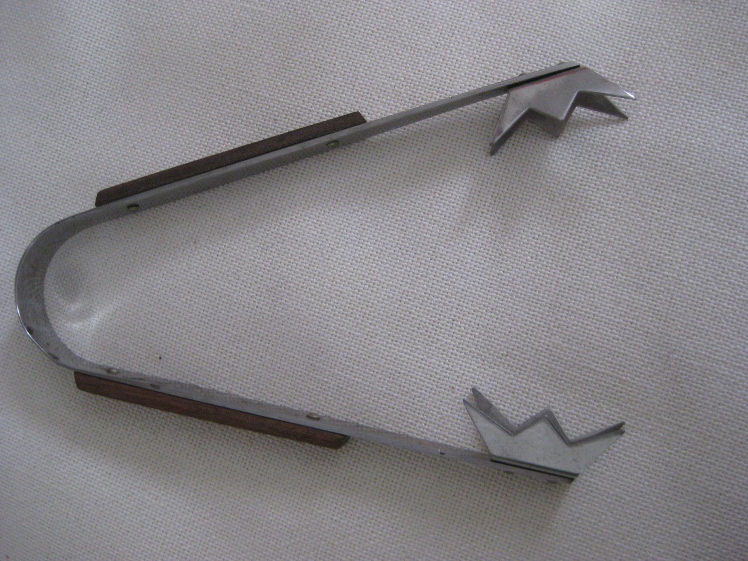 Vintage Unique ATOMIC Ice Tongs by VintageByThePound on Etsy