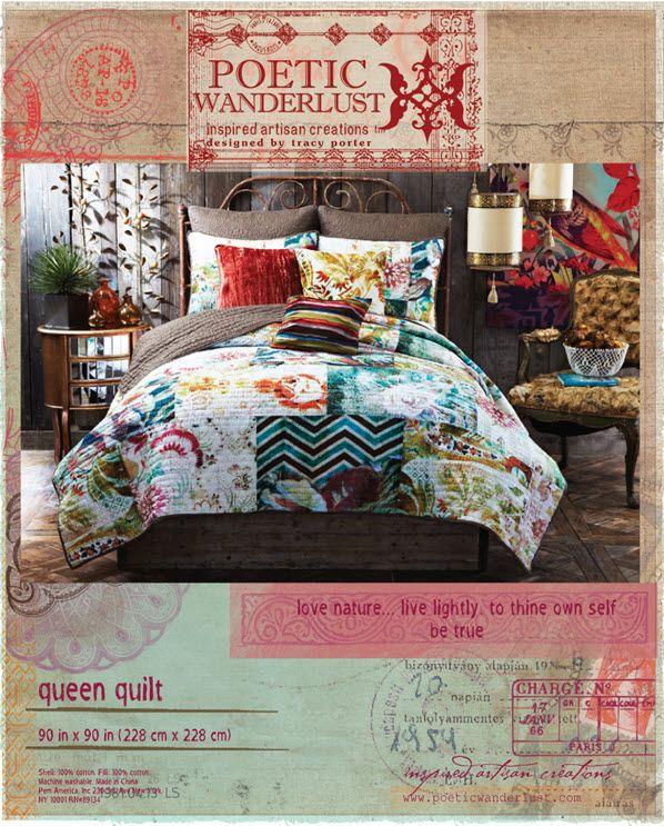 poetic wanderlust- bedding packaging | artisan creations.tracy