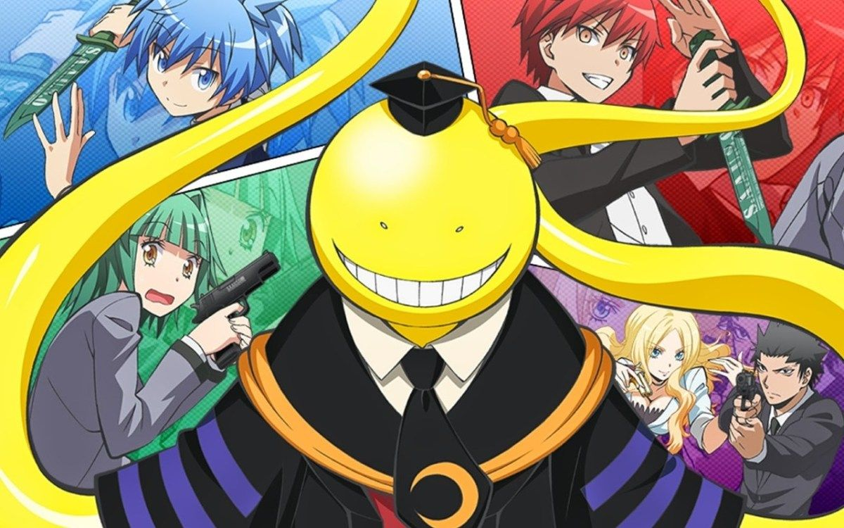 Anime Series Like Assassination Classroom Assasination