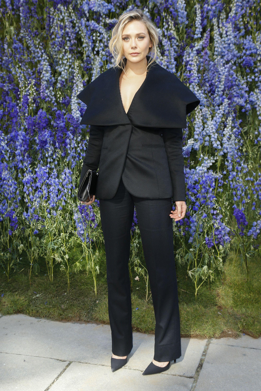 Elizabeth Olsen at Christian Dior Spring 2016