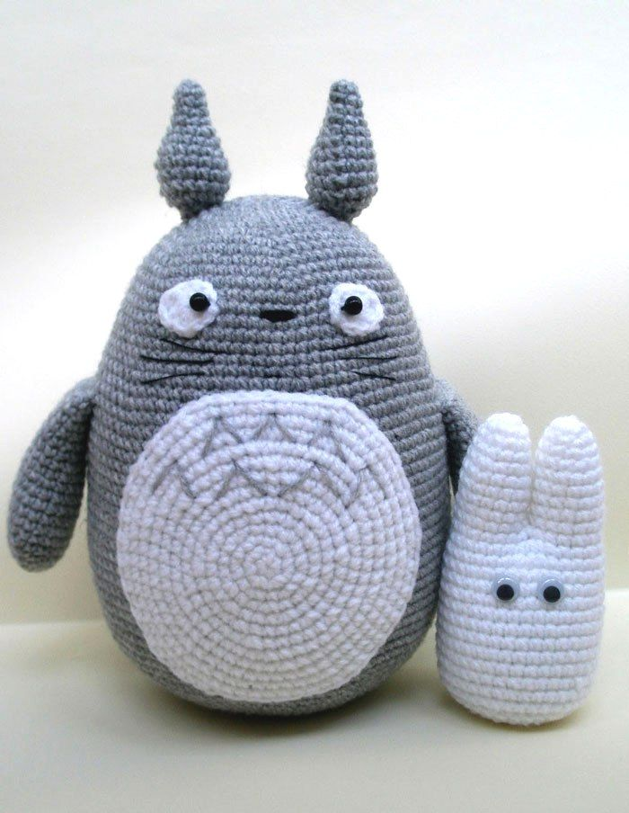 Free Amigurumi Wedding Couple Pattern : Totoro amigurumi crochet pattern Amigurumi Pinterest ...