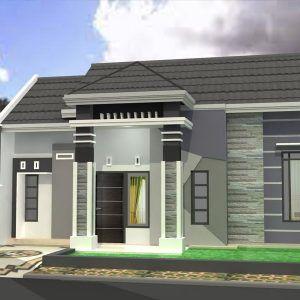 10 model rumah sederhana di kampung terbaru 2020 di 2020