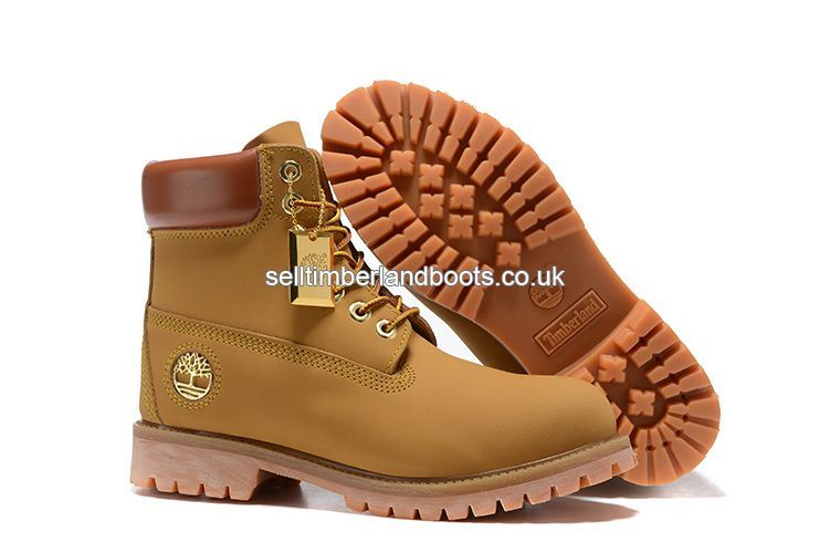 984fd679fa6 2017 New Timberland Women s 6 Inch Smooth Boot - Wheat Gold Logo Outlet UK  £72.00