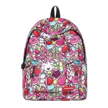 In Unicorn Girly Backpack Canvas Unilovers 2018 Printing AIIqvxwfrd