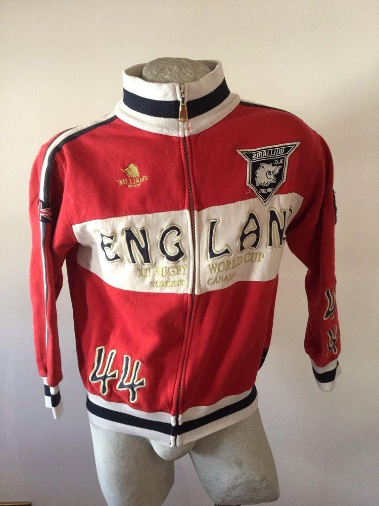 FELPA WILSON RUGBY TORONTO CANADA ENGLAND jacke jacket