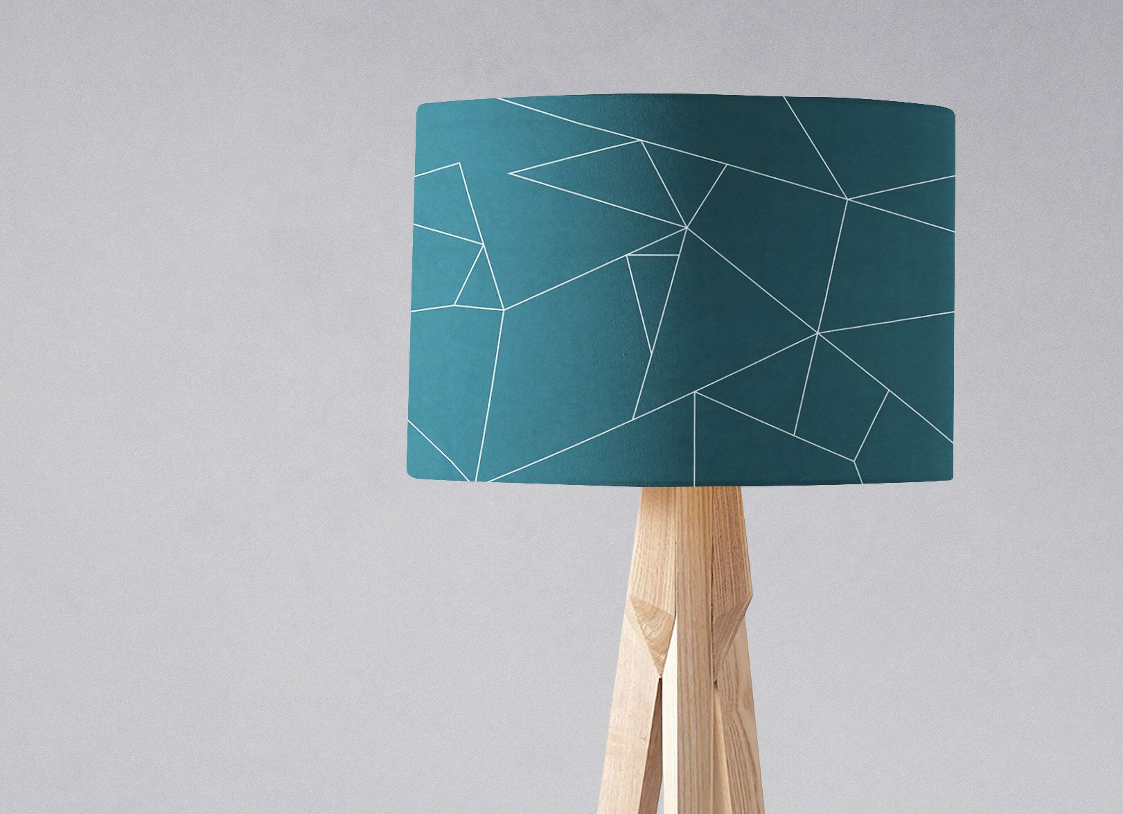Teal Lampshade Blue Lamp Shade Turquoise Decor Teal Home Etsy