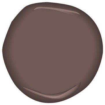 Benjamin Moore Velvet Plum. Perfect with Gold.