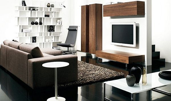Modern Living Room Furniture Design tips to make your small living room prettier | small living room