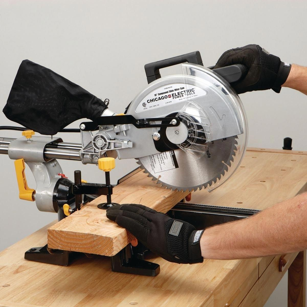 Setting Up Shop Stationary Power Tools Sliding Compound Miter Saw Miter Saw Woodworking Shop