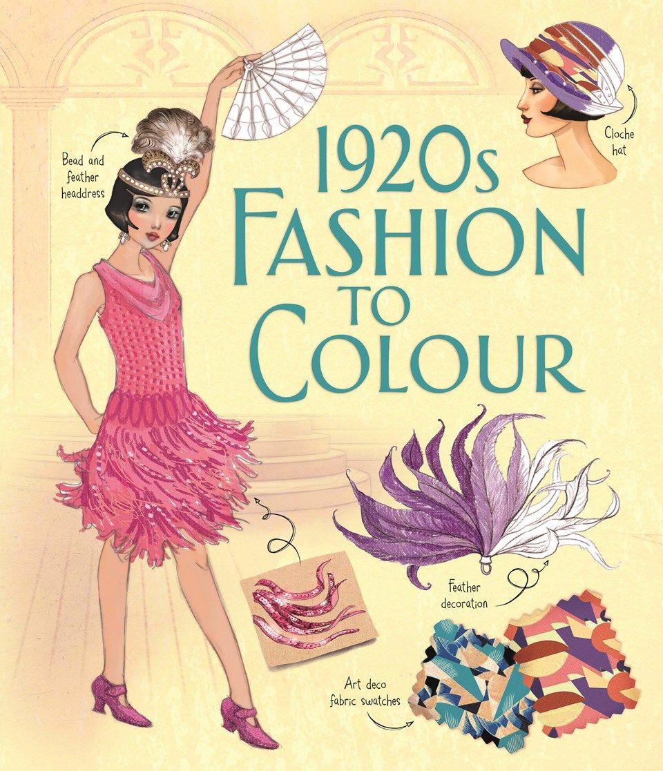 1920s Fashion To Colour Kleuren
