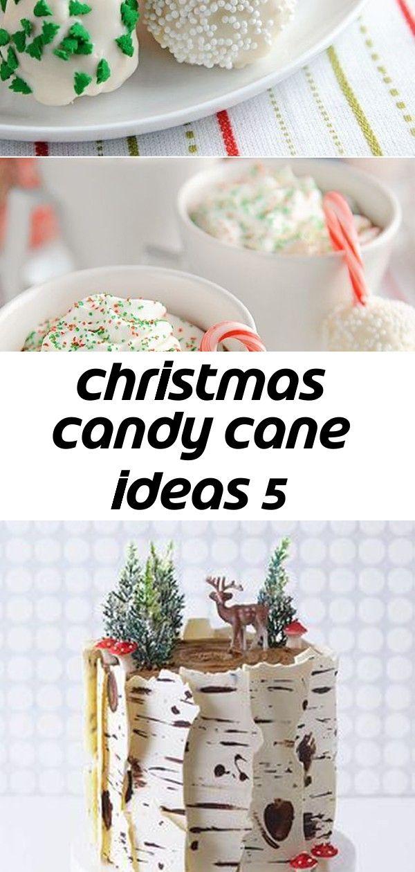 Christmas candy cane ideas 5 #chocolatepeanutbutterpokecake
