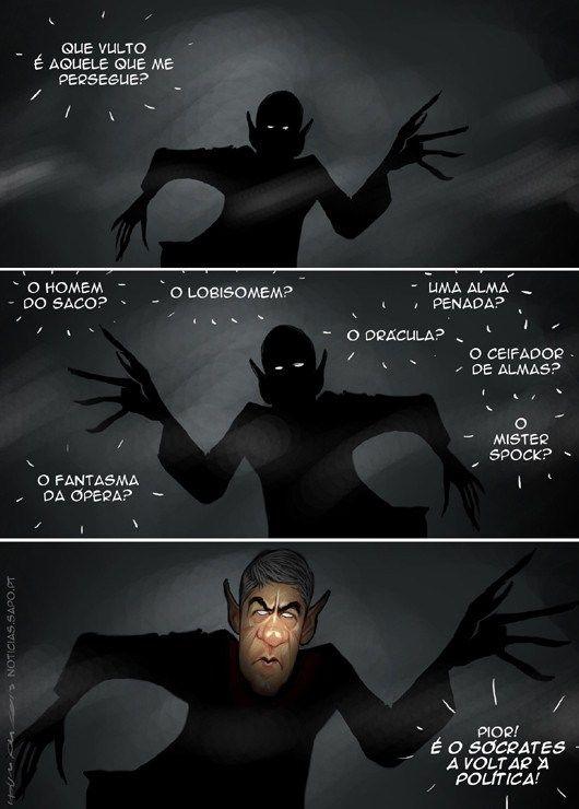 Cartoon: O pesadelo - Ironia d\'Estado | Ironia d\'Estado | Pinterest ...