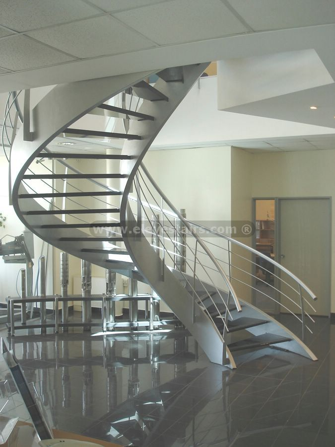 Exceptional Special Circular Stairs, Spiral Stair, Eleve, Metalic, Wood, Kit, Modular