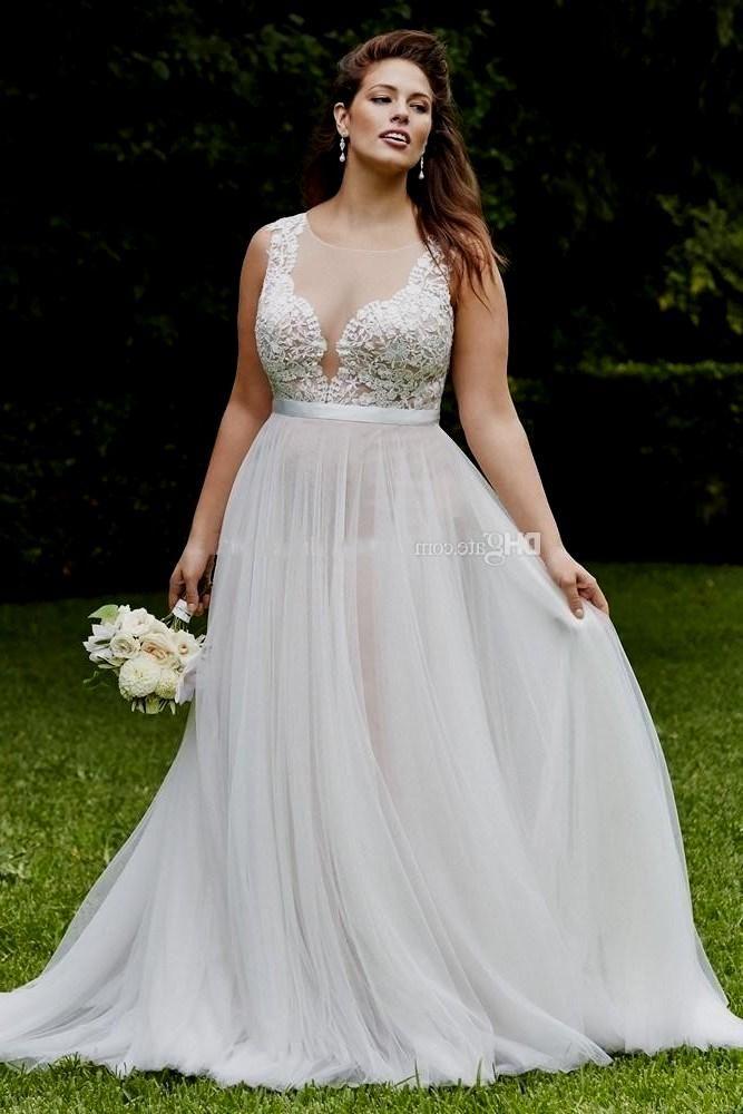 High quality custom cheap plus size wedding dress 26w ...