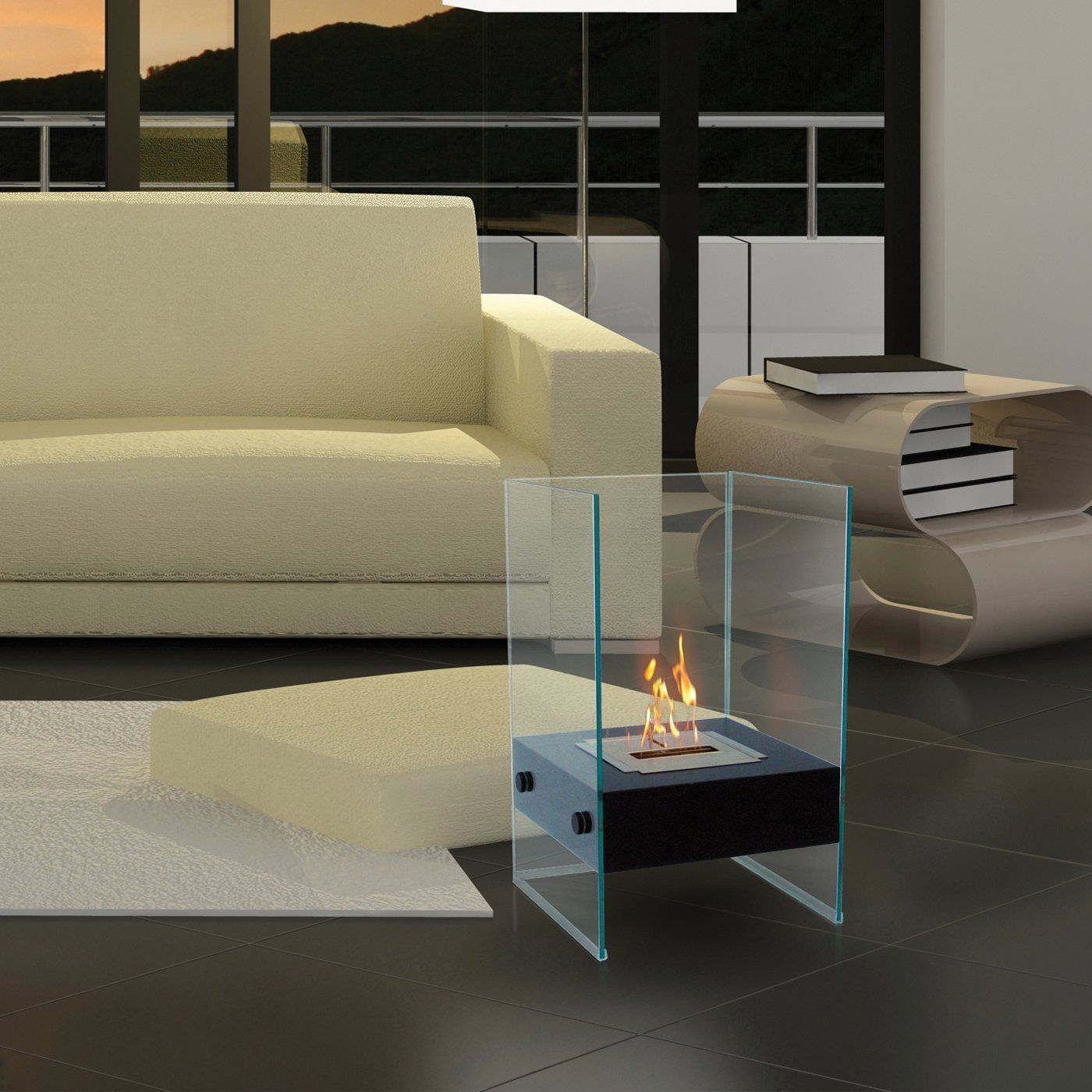 anywhere fireplaces 90205 hudson portable fireplace at atg stores