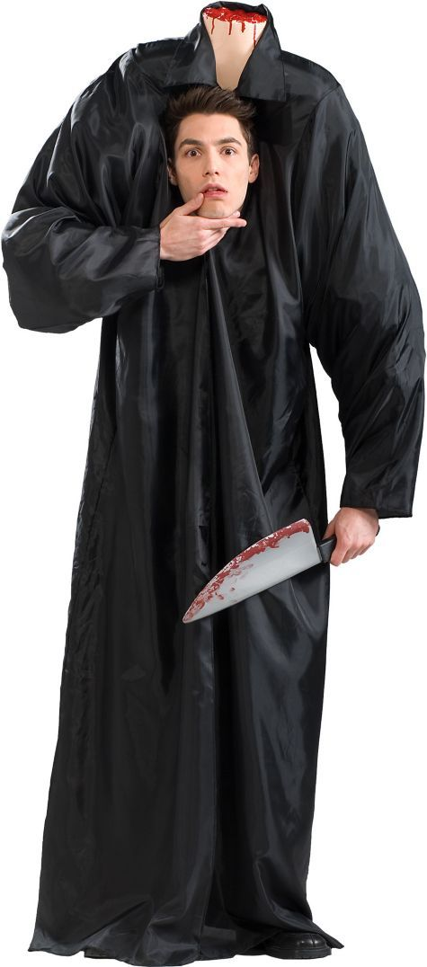 Adult Headless Man Costume - Party City | halloween | Pinterest ...